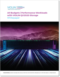 WP_All Budgets_Performance workloads with violin QV2020 storage
